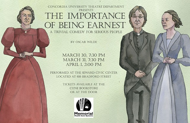 The Importance of Being Earnest poster No. 3