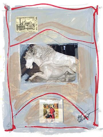 Italian Notebook Series  il cavallo #5