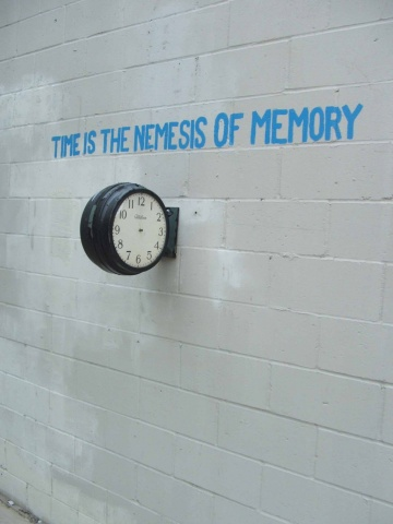 Time is the Nemesis of Memory