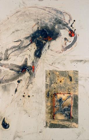 Molten Iron Painting