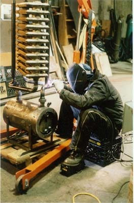 "TIG Welding ""32-34 E. 2nd St, NYC"""