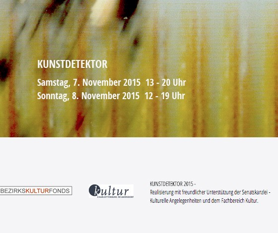 OPEN STUDIO 7-8 NOVEMBER 2015, BERLIN