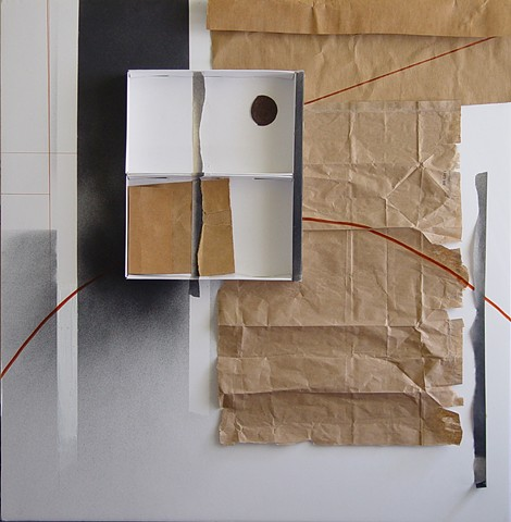 Fragmented Box/Not (via Francis Bacon), #3