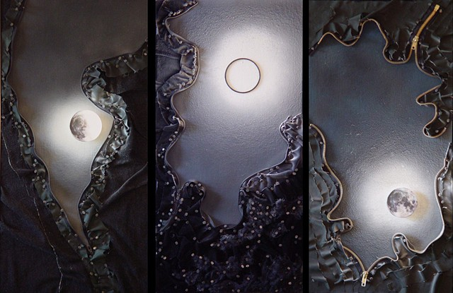 Moonrise Rift Triptych #1