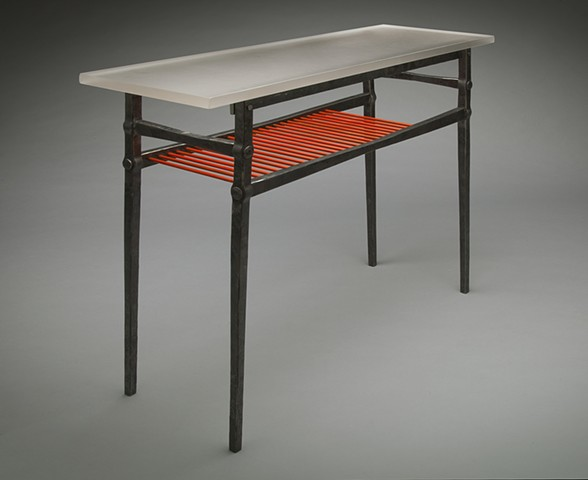 Table 42 with allis chalmers orange