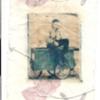 man on a cart