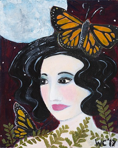 "SOLD ""Butterfly Fairy"""