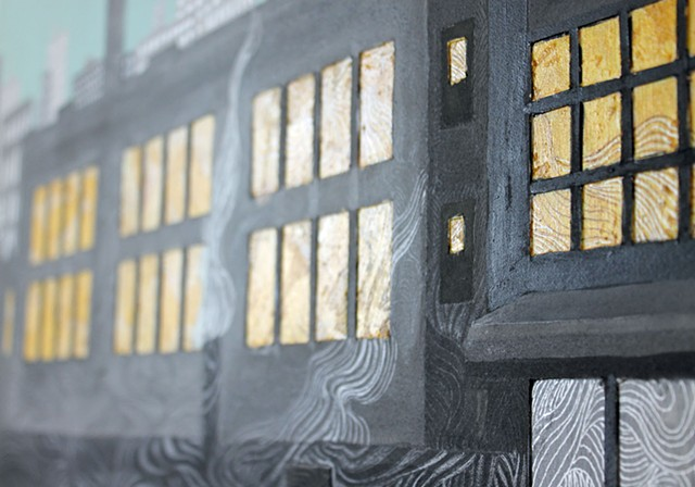 Detail of City Windows V