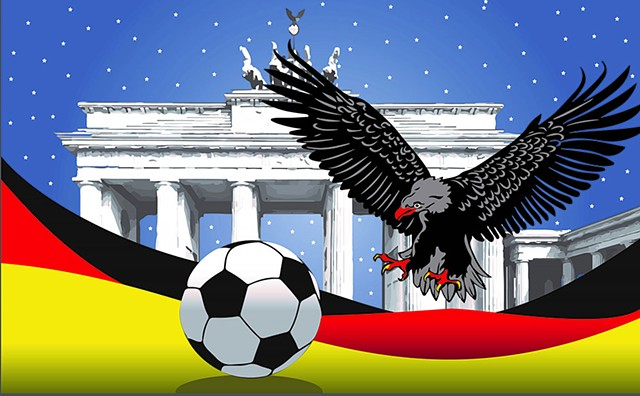 Team Germany Unity Cup Banner
