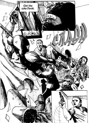Dublin Comic Page 3 by Artist Warren Faye