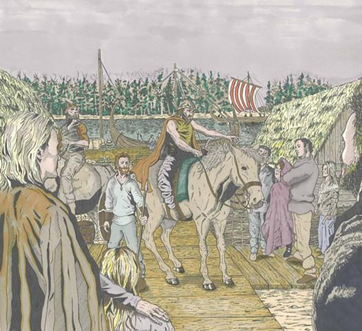 'A Cunning Warrior' The Brian Boru Collection,High kings, Brian Boru,Vikings