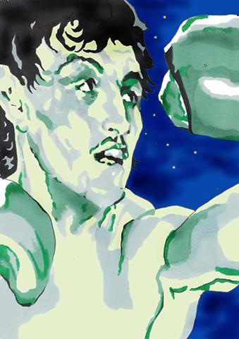 Barry Mc Guigan ,Iconic Walk Temple Bar ,Artist Warren Faye,champion,boxer,irish hero,mc guigan,petrosa,world title,ireland