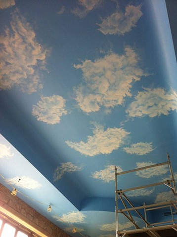 Clouds,swimming pool,pool,detailed clouding,swimmingpoolceiling,pool,