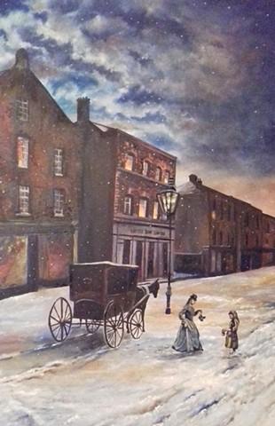 Blackrock, Dublin, 19th century.