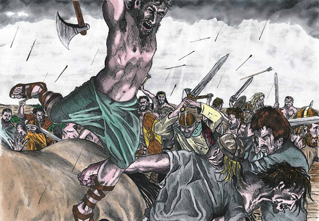 warriors,celts,brian boru,solohead,sligo,battles,vikings