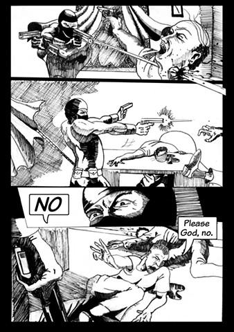 Dublin Comic Page 4 by Artist Warren Faye