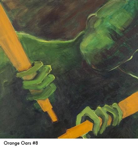 Orange Oars 8