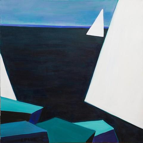 Three White Sails 2