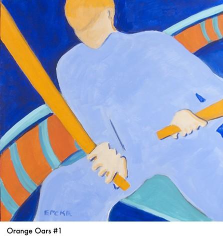 Orange Oars 1