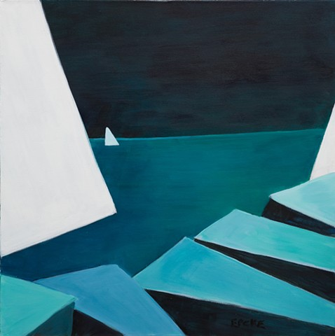Three White Sails 1