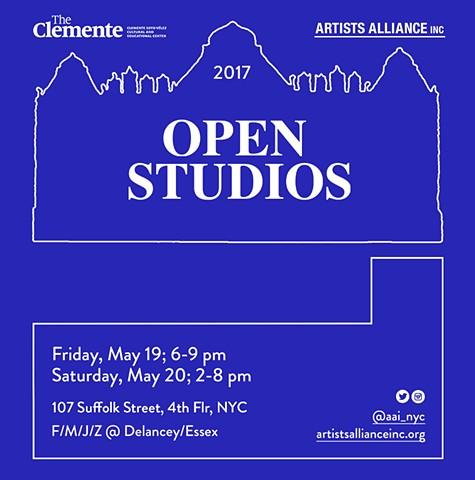 Please join us for the 21st annual building-wide Open Studios!