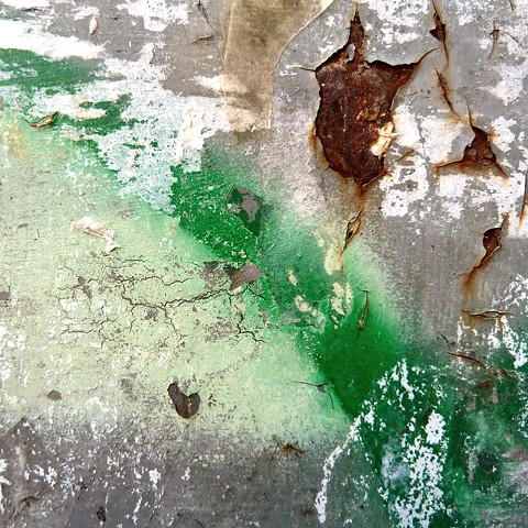 Paint on Rusted - Venice