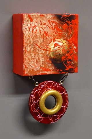Red Door Ornament