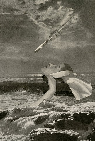 collage, Angelica Paez, cut and paste, surreal