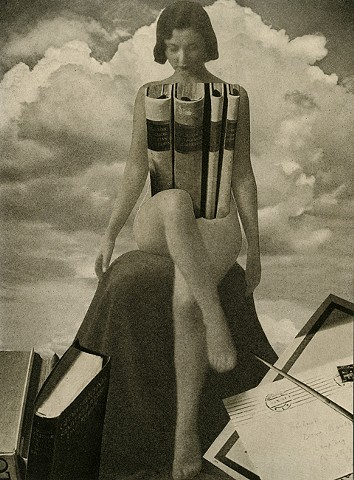collage, surreal, Angelica Paez, cut and paste