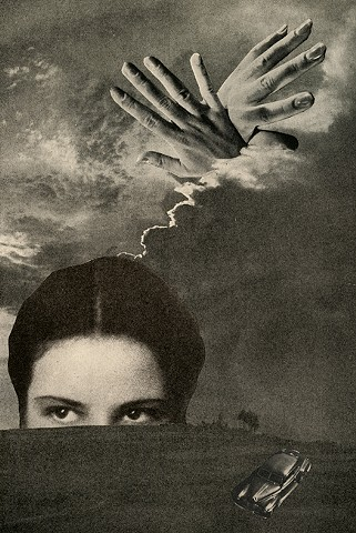 Angelica Paez, collage, cut and paste, surreal