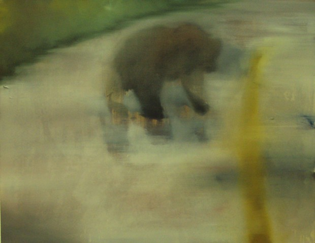 Ben Williamson artist, Ben Williamson painting, Ben Williamson art, Ben Williamson, Painting, Proof of a Bear