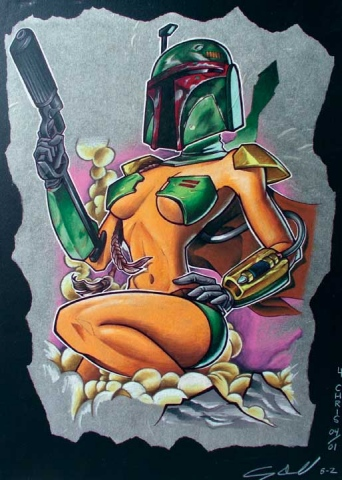 BOBA FETT GIRL