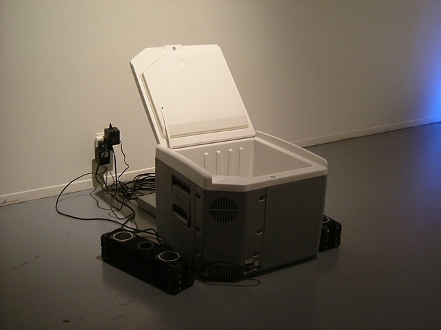 'Polar Express: Customised Cooler with Bass Bins, Video Monitor (I Like Big Butts)'
