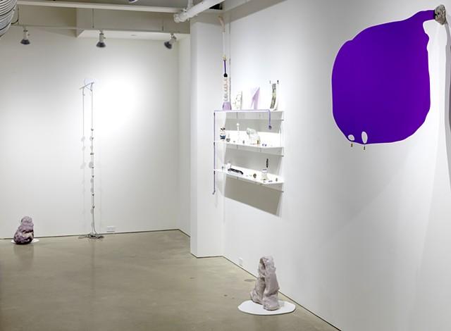 installation view 'Hair did. Nails did. Keep everything did. (Gustav von Aschenbach)'