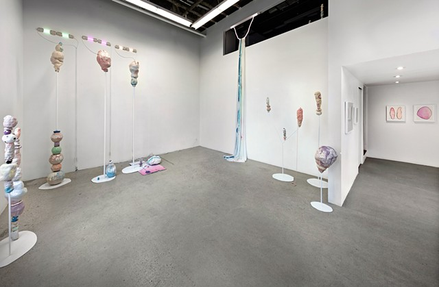 installation view: 'dango emoji' Dupont Projects, Oct. 2016