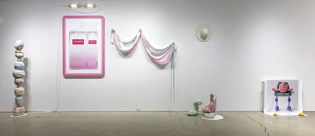 installation view: 'Hair did. Nails did. Keep everything did. (Gustav von Aschenbach)'