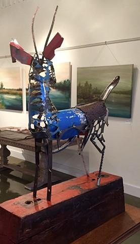 found object deer by Thomas Prochnow