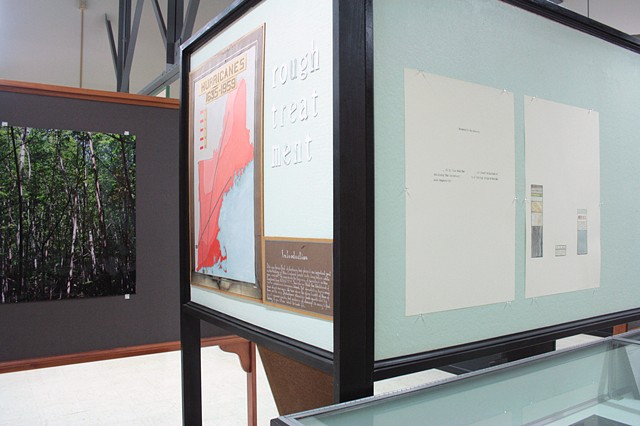 "Installation View, ""We've been to this site."""