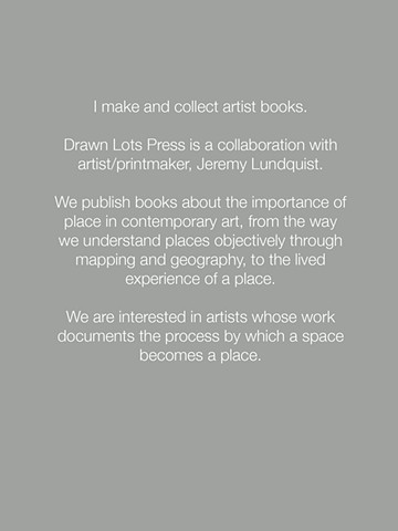 Artist Books Description