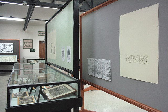 "Installation View, ""We've been to this site."" (View from left side of gallery toward entry)"