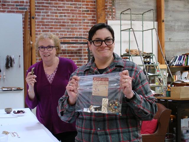 Deb Lozier with Suzanne Pugh