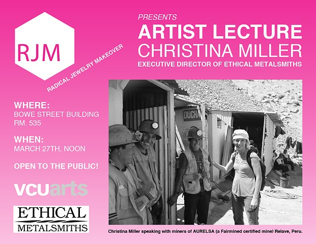 Artist Lecture Christina Miller