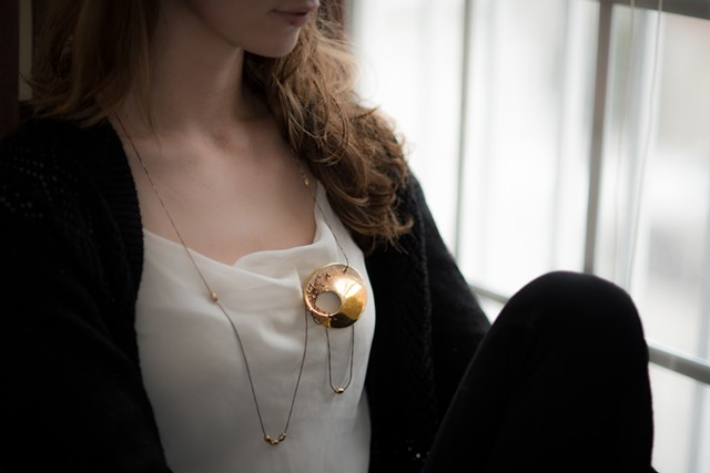 Annika Rundberg Necklace-Brooch