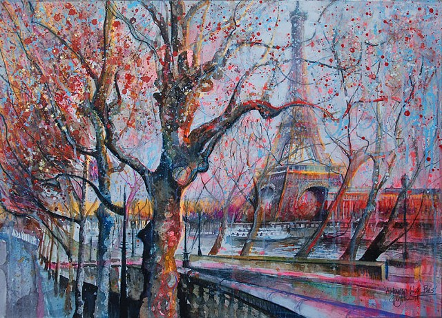 'AUTUMN WALK, PARIS