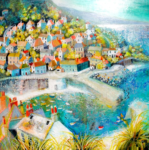 'SUNLIGHT & WHIMSY, CORNWALL' Available