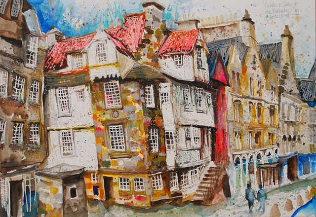 'KNOBBLES & COBBLES AT THE NETHERBOW' Sold