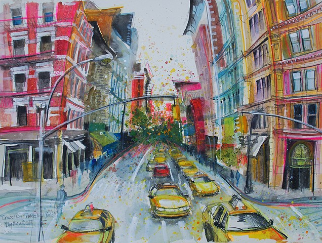 'CROSSTOWN TRAFFIC, NEW YORK' Available