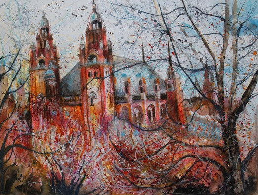 'BEYOND THE TREES, KELVINGROVE'
