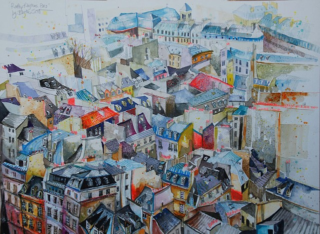 'ROOFTOP RHYTHMS. PARIS' Sold