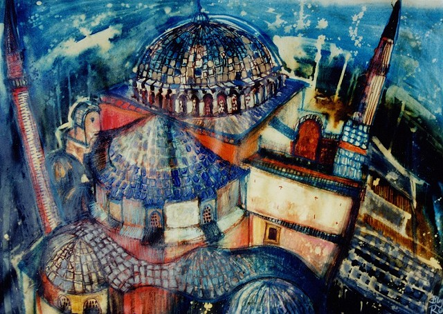 'BLUE MOSQUE' Sold